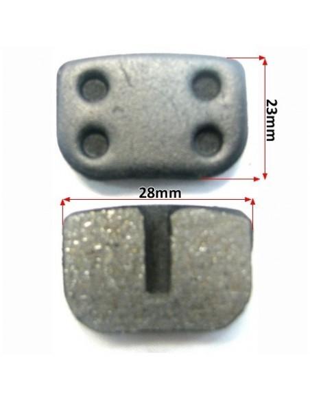 Plaquettes de frein Pocket