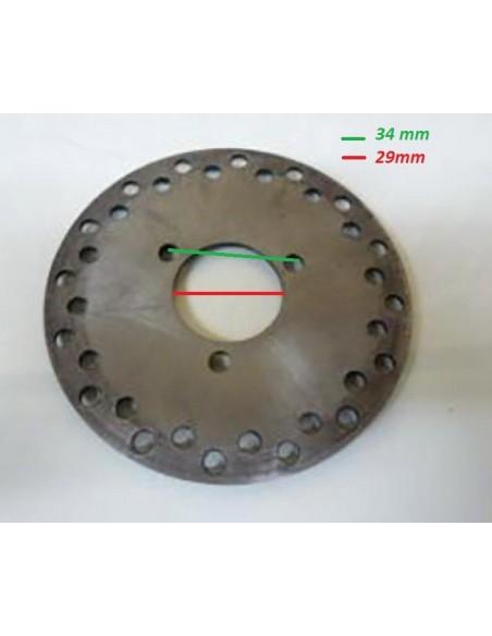 Disque de frein ARR 140mm Pocket Quad