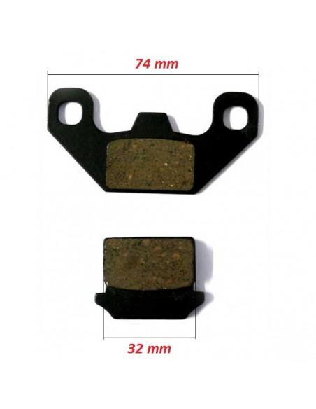 Plaquettes de freins Avant Quad - Modèle 1