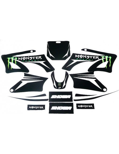 Kit déco Monster Energy AGB / Orion