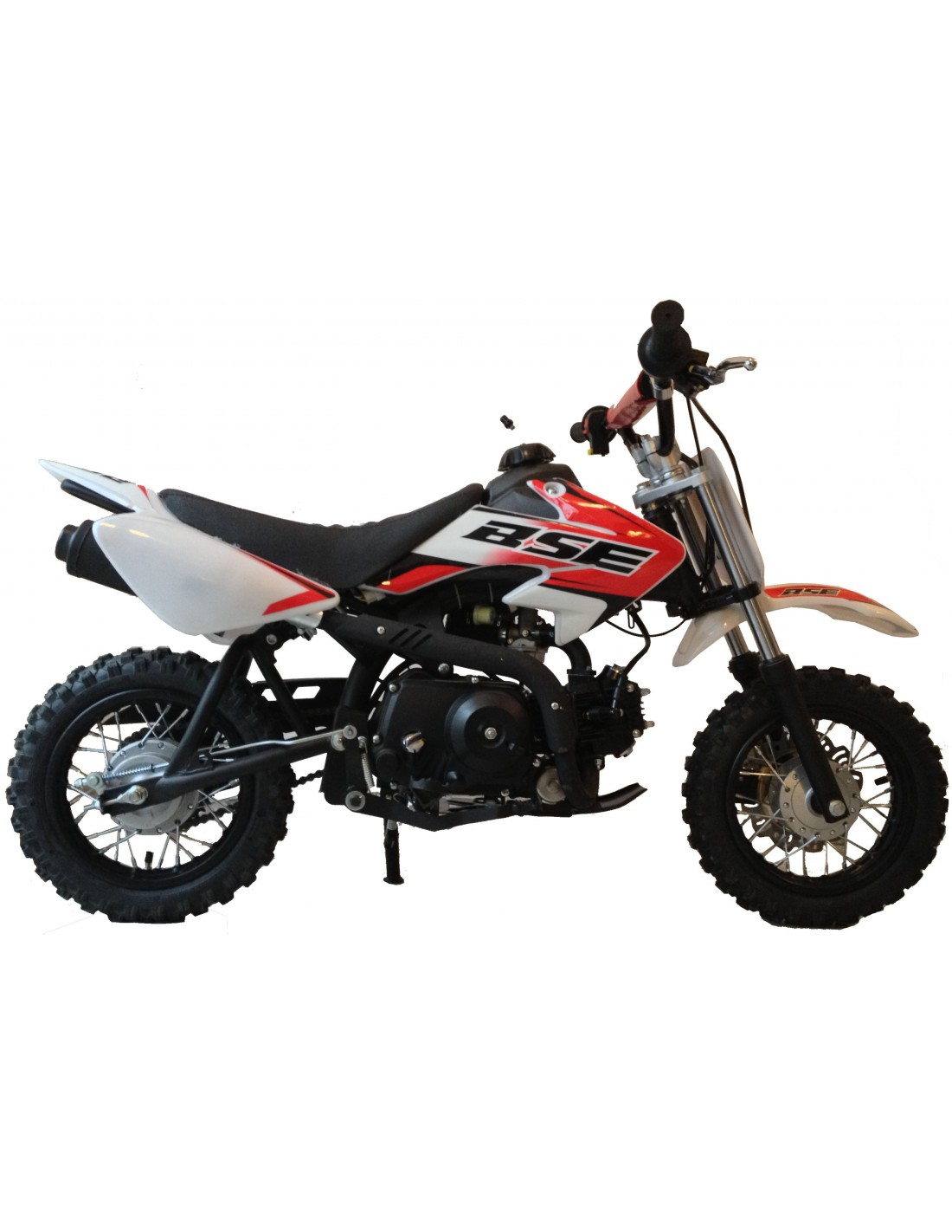 dirt bike 70cc bse automatique 10 pouces d marrage lectrique monster bike 62. Black Bedroom Furniture Sets. Home Design Ideas