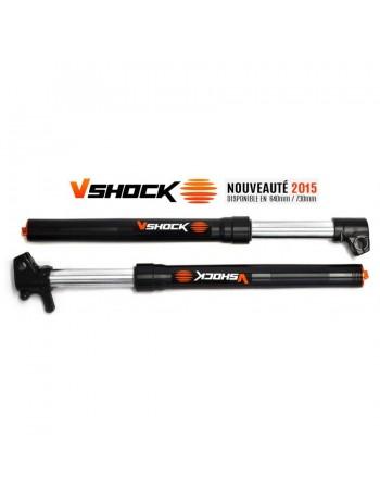 Fourche inversée Haut de gamme VShock 730mm