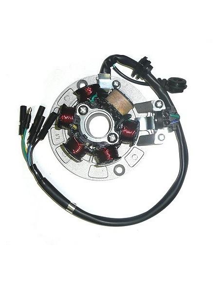 Stator Allumage 6 bobines Dirt Bike / Pit Bike
