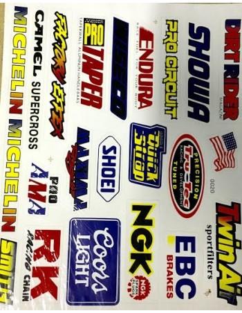 Planche de Stickers Mixte
