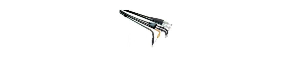 Câbles, Leviers, accélérateur